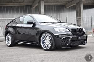 BMW X6 on Anniversary EVO II Hamann Wheels by DS Automobile